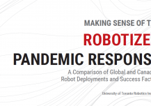 Making Sense of the Robotized Pandemic Response: A Comparison of Global and Canadian Robot Deployments and Success Factors (University of Toronto White Paper)